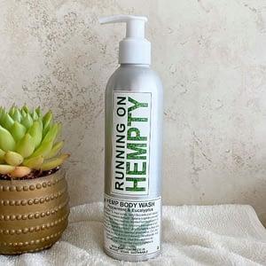 Hemp Body Wash- Peppermint & Eucalyptus