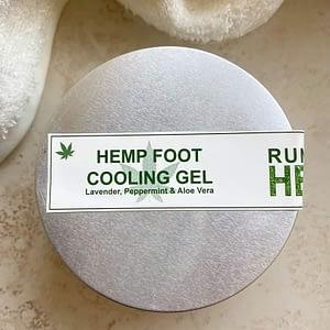 Hemp foot cooling gel
