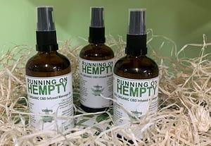 New in CBD Massage Oil