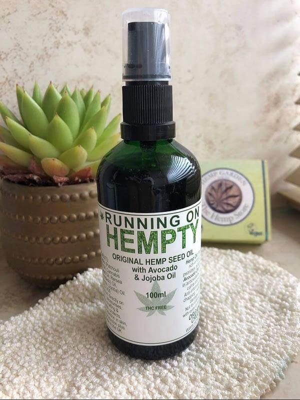 Hemp body oil