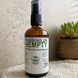 1000mg cbd massage oil